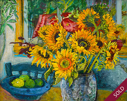Sunflowers and Limes